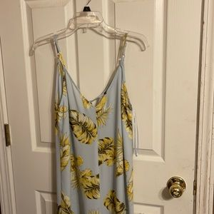 Mad For Love Floral Jumpsuit New